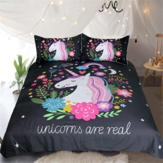 Unicorn Duvet Cover Set | King Literie