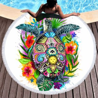 Round Beach Towel | King Literie