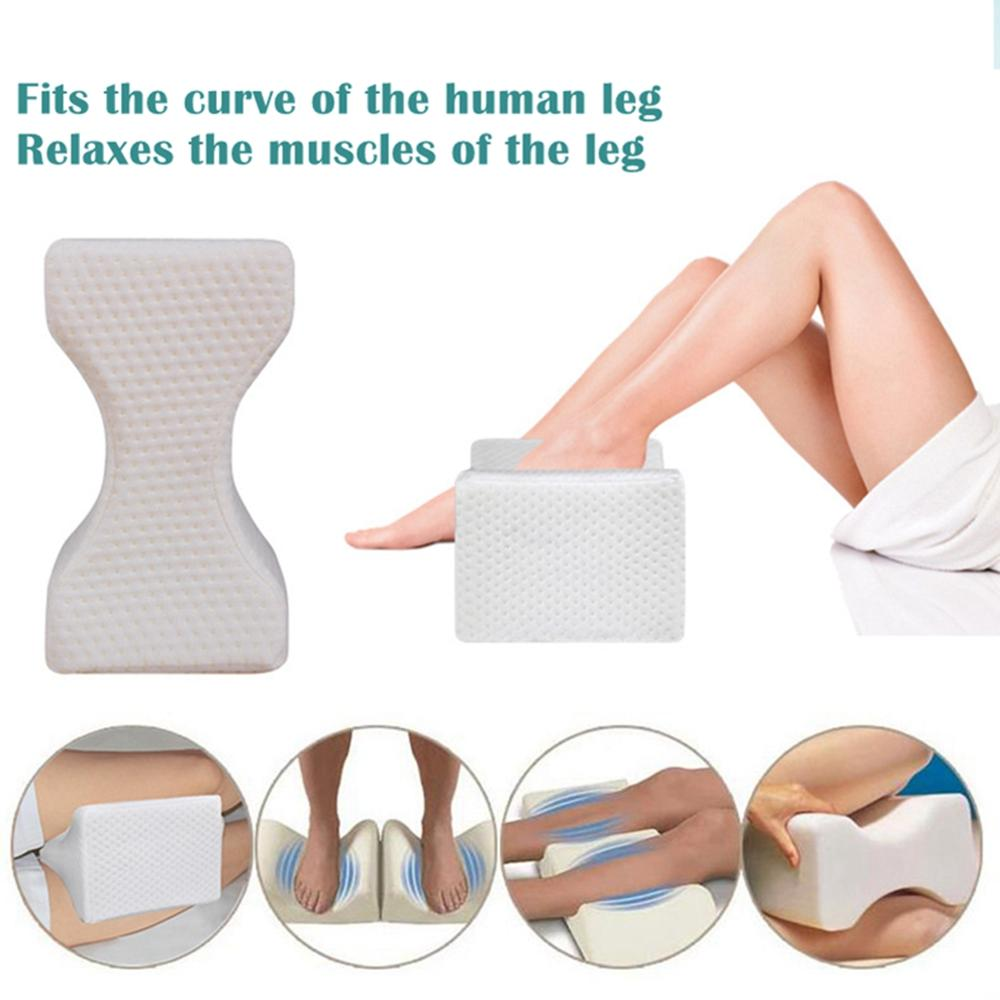 Memory Foam Knee Legs Pillow For Back Hip Pain Knee Cover Support Cushion Wedge